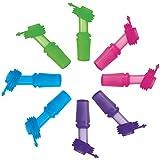 SINONIA Kids Bite Valves Fit All CamelBak Eddy Kids Water Bottle 8Pack (Mixed Colors)