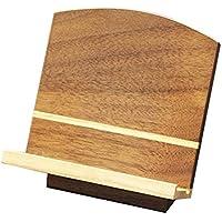 京仏壇はやし 過去帳台 家具調見台( ナラ ) 3寸 ◆高さ 約9.5cm 巾 約9cm 奥行 約7.5cm