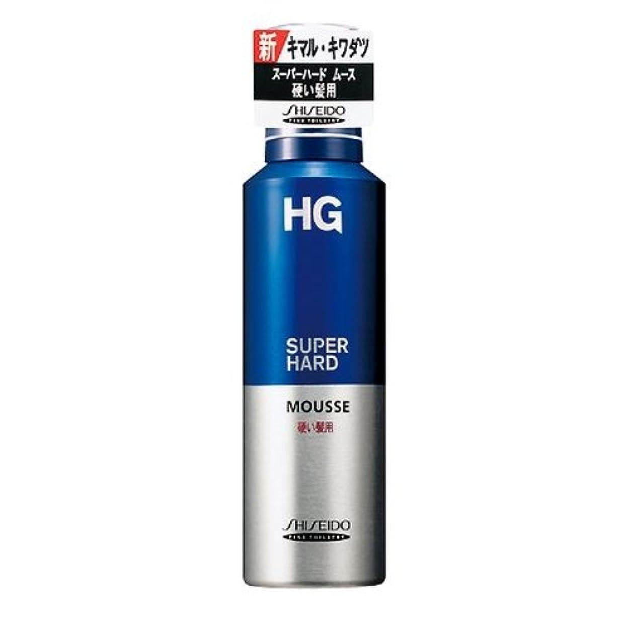 聖なるブーストレースHG スーパーハードムース 硬い髪用a 180g