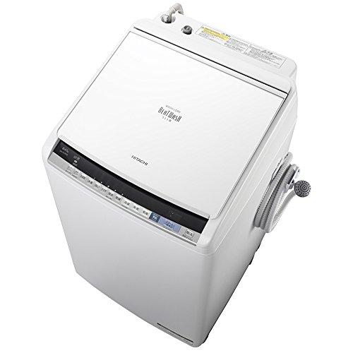 日立 洗濯乾燥機 ホワイト BW-DV80B W