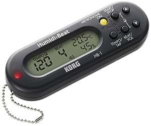 KORG HB-1-BK (黒) Humidi-Beat ブラック 温度計・湿度計付メトロノーム