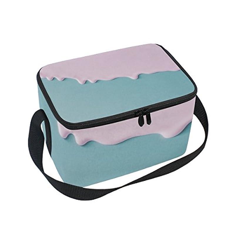 スズメバチ中世の札入れクーラーバッグ クーラーボックス ソフトクーラ 冷蔵ボックス キャンプ用品 ミルク柄 ピンク 保冷保温 大容量 肩掛け お花見 アウトドア