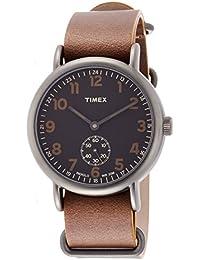 [タイメックス]TIMEX ウィークエンダービンテージスモールセコンド40mmブラウンレザーストラップ【国内正規品】 TW2P86800 【正規輸入品】