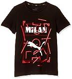 [プーマ] トレーニングウェア ACM PUMA DNA Tシャツ [ボーイズ] 756022 ブラック/タンゴ レッド (03) 日本 152 (日本サイズ150 相当)
