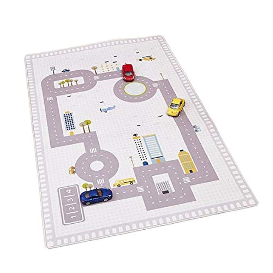 ファンド地図禁じる子供用デジタルロードマットゲームカーペットフロアマットクロールマットマット子供用ルームデコレーションプレイマット-
