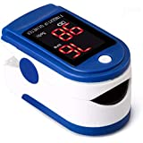 Fingertip Oximeter, pulse oximeter finger with Spo2 Accurate readings, for Perfusion Index, Blood Oxygen, the Pulse Rate, Blu