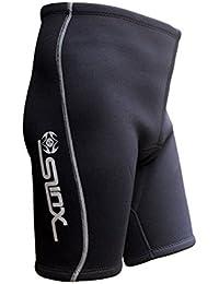 hjuns-Wu 全5サイズ SLINX メンズ ダイビングショーツ 4mm ネオプレン ショートパンツ 潜水 水泳短パン スイミング トレーニング 保温 ウェットスーツ M