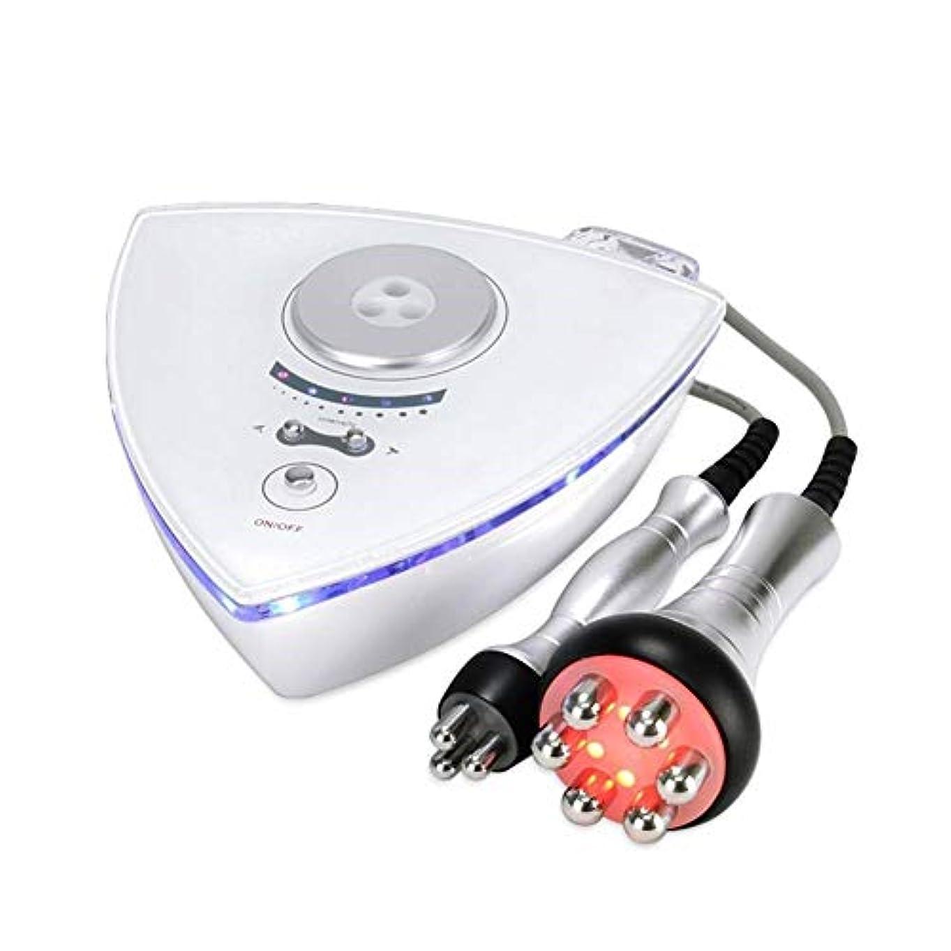 ボディシェイピングマッサージャー、ボディ痩身マシン、スキンリフティング、RFラジオ周波数フェイシャルマシンスキンリジュネーション除去シワホーム使用