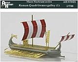 アーティストホビー 1/700 ローマ四段櫂船 (ガレー船) レジンキット AHLAH87021