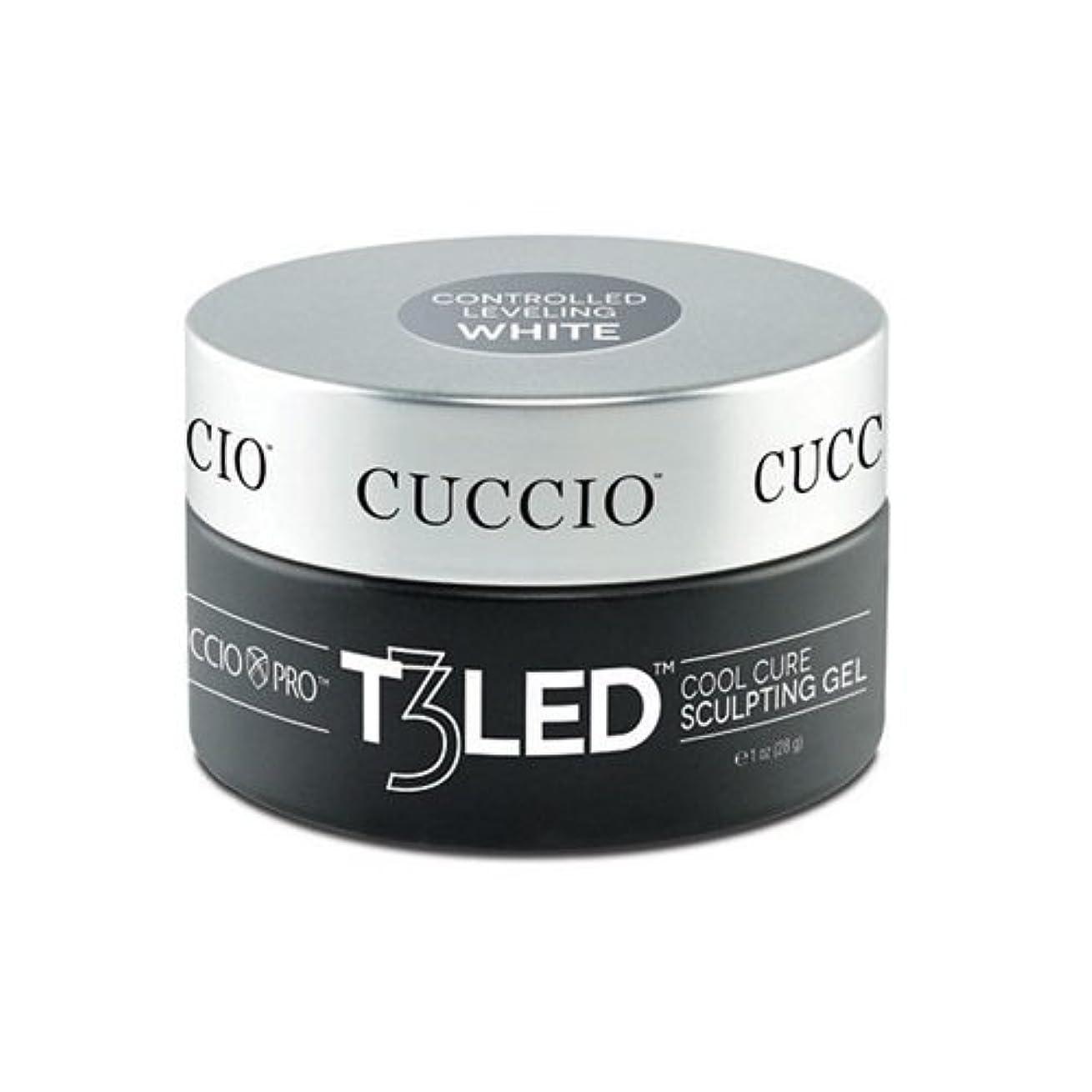 佐賀センブランス撤回するCuccio Pro - T3 LED/UV Controlled Leveling Gel - White - 2oz / 56g