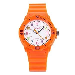 [スクメイ]SKMEI 腕時計 子供用ポップカラー オレンジ 1043 ボーイズ 【並行輸入品】