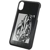 iPhoneXケース「マツダ(MAZDA) RX-7 FD3S 」切り絵デザイン ブラックアルマイト