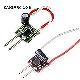 Homyl 定電流規制 1x3w MR16ランプホルダー LED ドライバ  480mA AC 12V  ランダムな色  2個入り