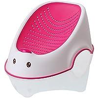 [crosmall]ネカセテベビーバス お手入れ簡単な赤ちゃんのお風呂  (ピンク )