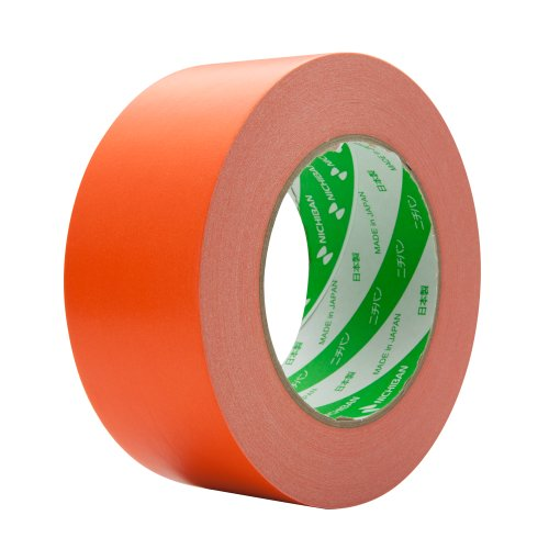 ニチバン 着色クラフトテープ 50mm×50m巻 305C13-50 オレンジ