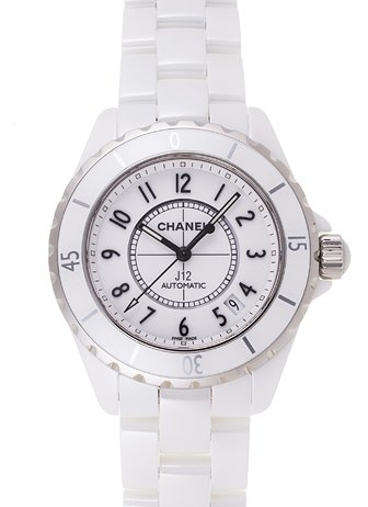 腕時計 スポーツ J12 オートマチック セラミック ホワイト H0970 メンズ [並行輸入品] シャネル