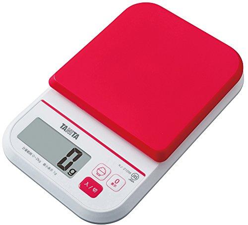 タニタ はかり スケール 料理 カロリー 2kg 1g ピンク KJ-210M PK ごはんのカロリ...