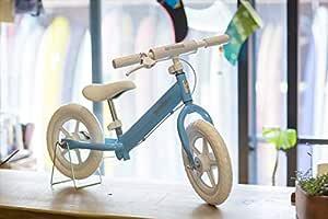 【ブレーキ付!安心・安全】 arcoba Kick Bike 12インチ キックバイク 子供 [ アルコバ ARCOBA アルコバキックバイク 12 ペダルなし自転車 バランスバイク ランニングバイク トレーニングバイク 乗り物 子供用 おしゃれ 可愛い プレゼント (北海道・遠隔地除く)新 (BLUE)