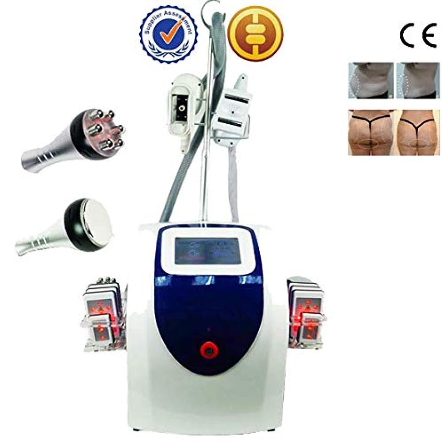 結核貞コンデンサーシルクフローズンRF 業務用脂肪冷却痩身マシン セルライトローラー キャビテーション ラジオ波