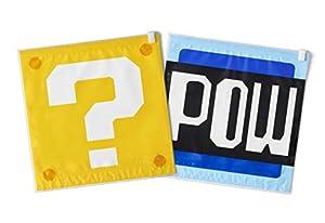 スーパーマリオ トラベル 衣類圧縮袋(ハテナブロック/POWブロック)