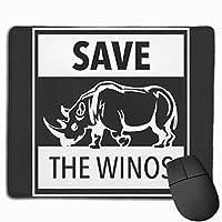 Winosを保存する マウスパッド 25×30 大判 ノンスリップ 防水 ゲーミング おしゃれ マウスの精密度を上がる