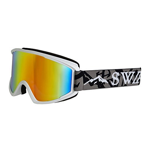 スワンズ(スワンズ) 2015-2016 O-100MDH MAW メンズ スノー ゴーグル ホワイト スキーゴーグル スノーボードゴーグル (ホワイト/FF/Men's、Lady's)