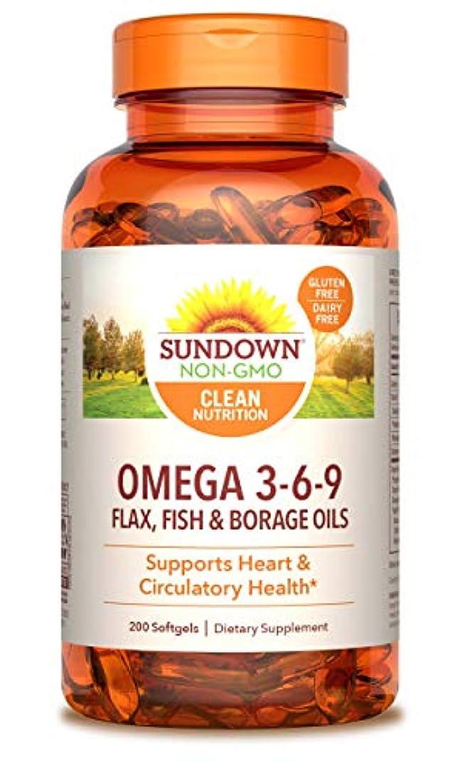側面冷笑するクリークRexall Sundown Naturals, Triple Omega 3-6-9, 200 Softgels