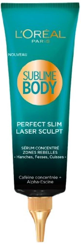 因子キャリア一口L'Oréal Paris Sublime Body Laser Sculpt Pflege Schlankmachend Serum Koffein