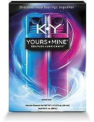 カップル用 性感刺激ジェル K-Y Yours plus Mine® Couples Lubricants 1.5 fl oz - 男性用1本?女性用1本