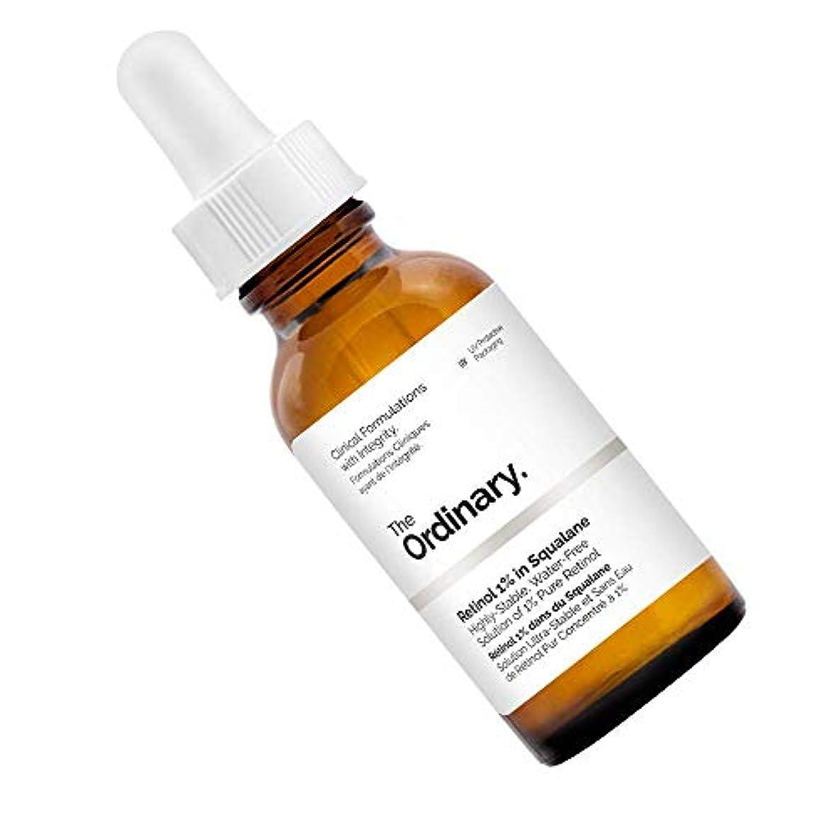 恩恵化学薬品実質的にThe Ordinary Retinol 1% in Squalane (30mL/1oz)