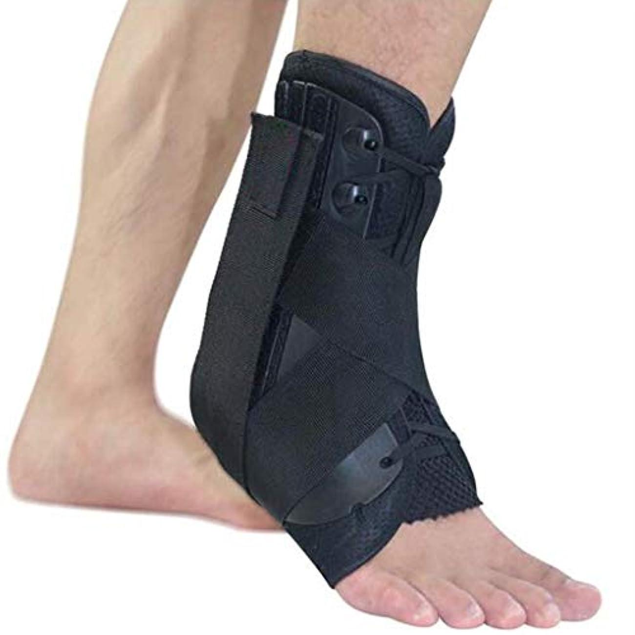 ケーブルカーインク獣筋膜炎かかとの痛み、手術後のアキレス腱気道足首骨折治療フィックスサポートツール (Size : L)