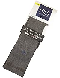 (グンゼ) GUNZE POLO(ポロ) 紳士ソックス 着圧設計 2足組 PBH211