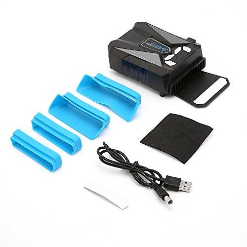 GAOHOU 5V USBノートパソコン用冷却ファン 吸引式...
