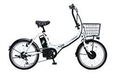 PELTECH(ペルテック) 折り畳み電動アシスト自転車 20インチ折り畳み外装6段変速 【簡易組立必要品】(TDN-206) ペルテック(Peltech) (ホワイト)