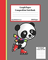 Graph Composition Notebook 5 Squares per inch 5x5 Quad Ruled 5 to 1 100 Pages: Cute Funny Cow Gift Journal / Grid Squared  Paper Back To School Gift Notebook For Math Teens Science Adults Students Programmers note taking and formulas