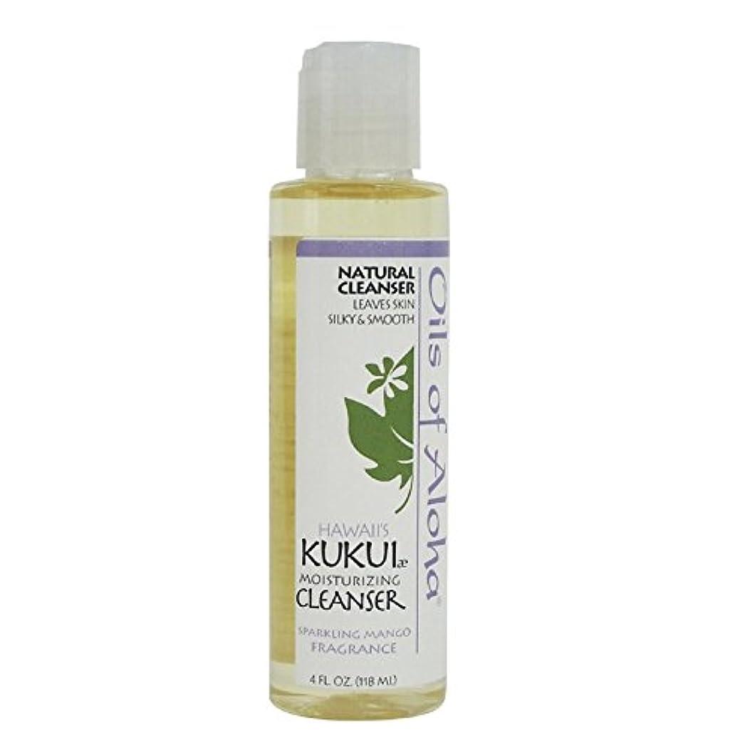 鮮やかな脚に対応Kukui Moisturizing Cleanser/118ml/4oz/クレンジングオイル