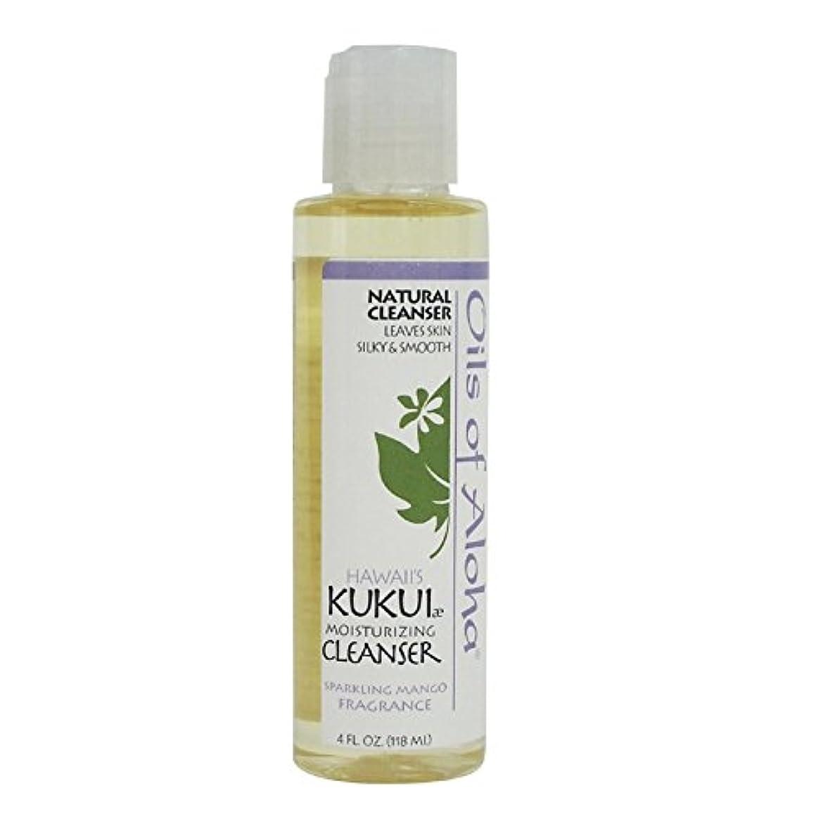 測定出血逆Kukui Moisturizing Cleanser/118ml/4oz/クレンジングオイル