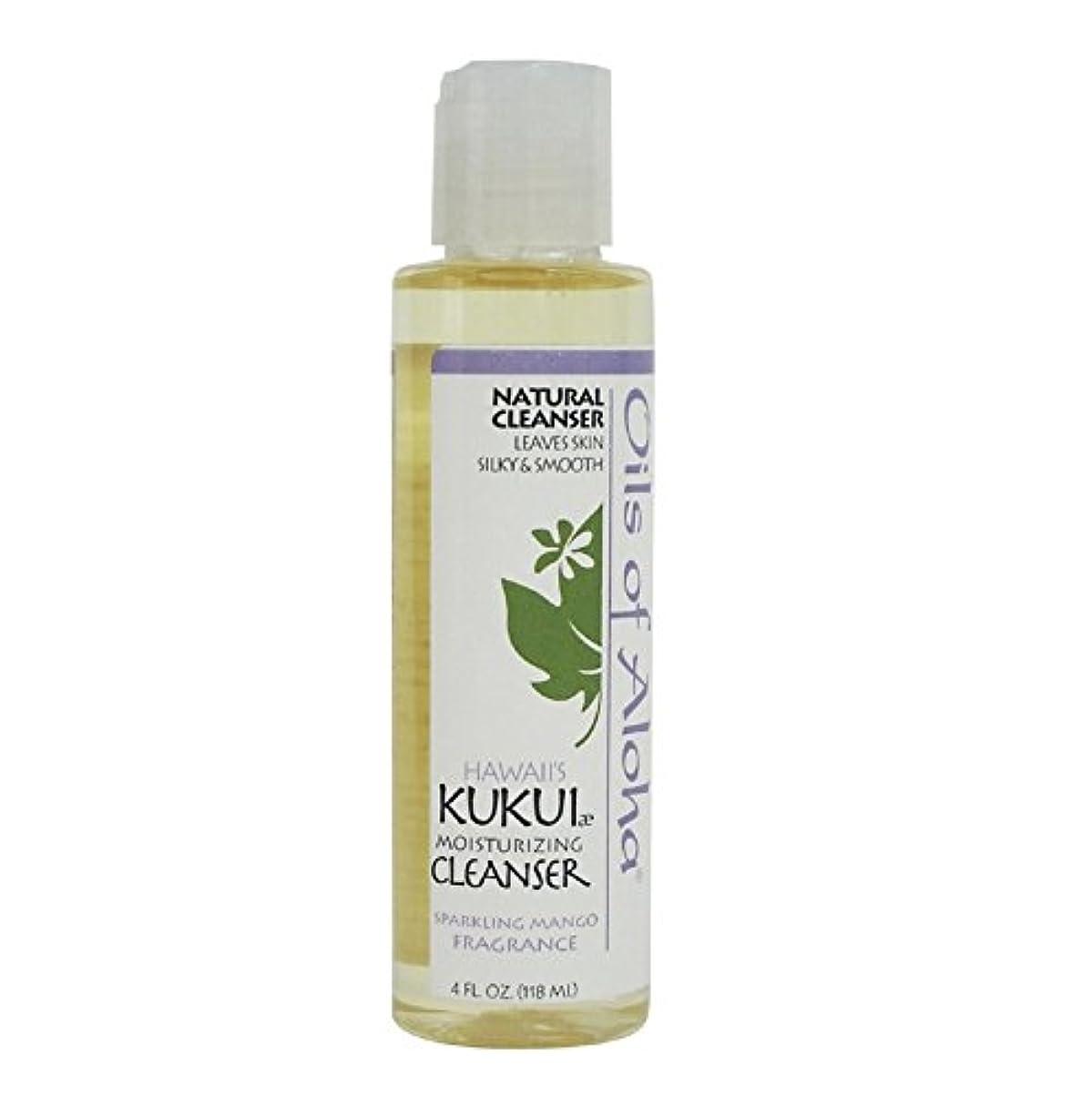 収入まどろみのある乱雑なKukui Moisturizing Cleanser/118ml/4oz/クレンジングオイル