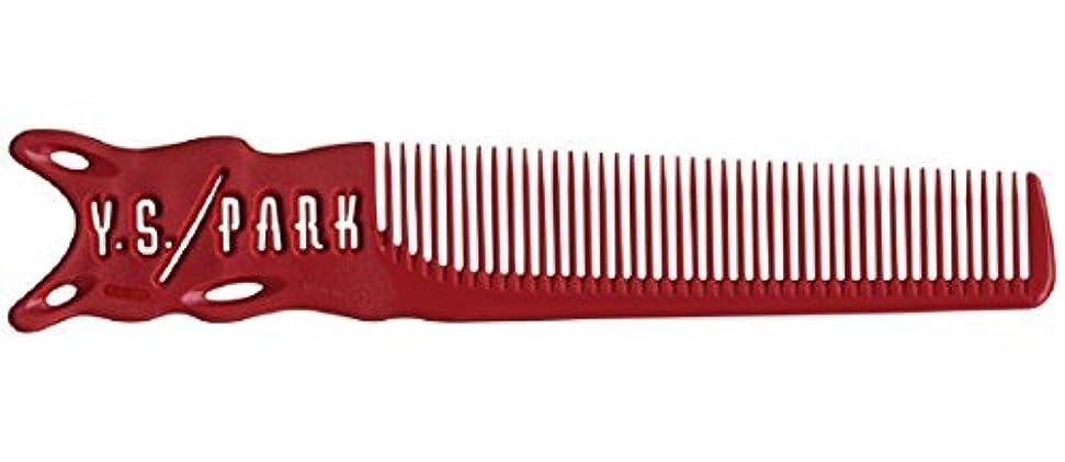 枕不適切な民主党YS Park 209 Barber Comb - Red [並行輸入品]