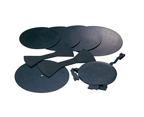 MAXTONE ドラム用ミュート 消音パット 8点セット DP-8 ブラック