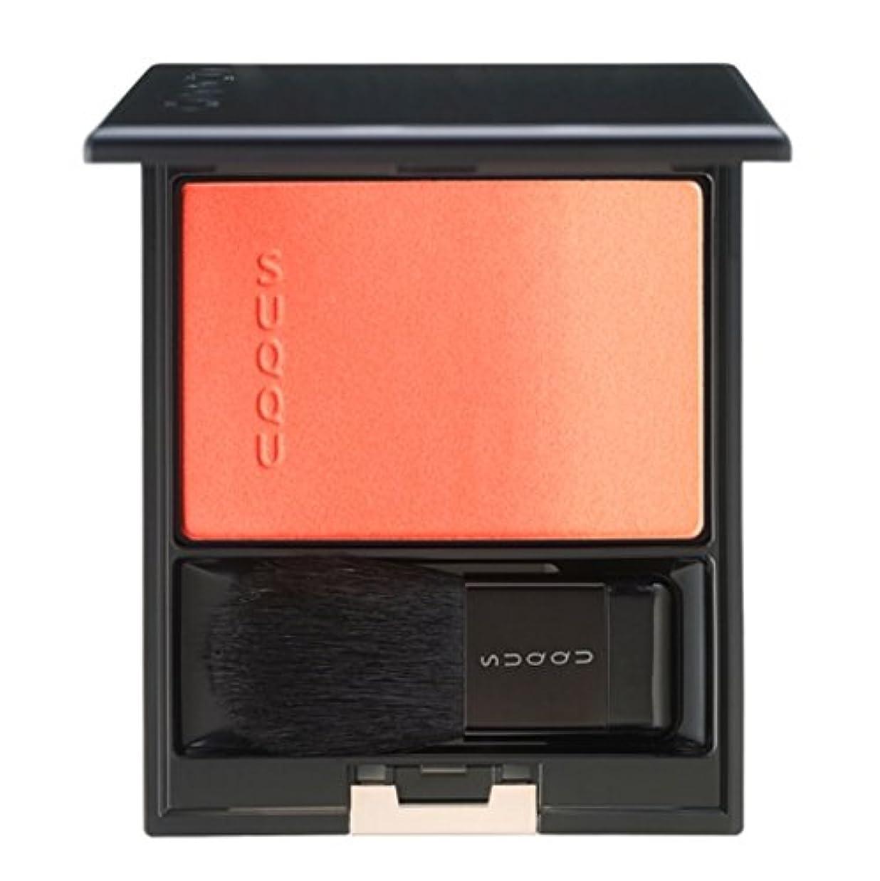 お誕生日静けさ広告するSUQQU スック ピュア カラー ブラッシュ #08 桃橙 -MOMODAIDAI