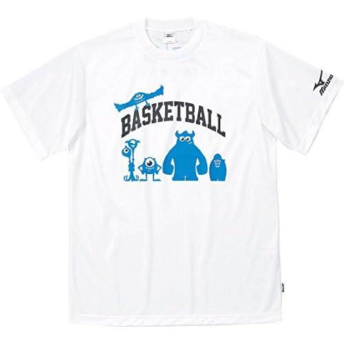 (ミズノ)MIZUNO バスケットボール UNISEX ジュニア プラクティスシャツ(半袖) W2JA4502 01 ホワイト O
