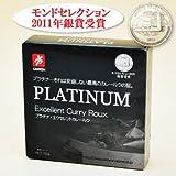 無添加 プラチナ・エクセレントカレールウ100g(約4皿分)×3個セット モンドセレクション2011年銀賞受賞