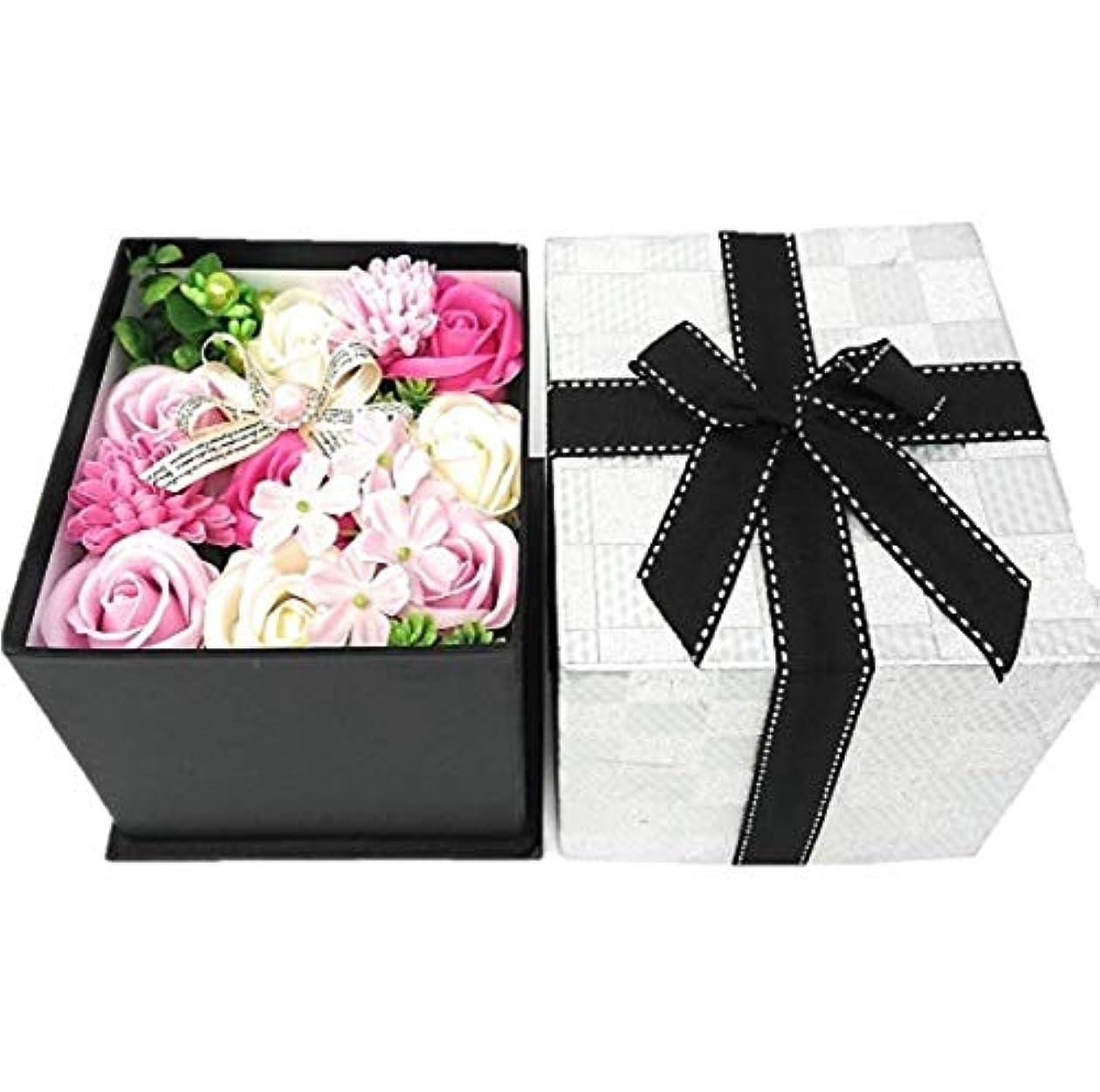 エンゲージメントペレットコークスクルール バスフレグランス バスフラワー BOX L ピンク 入浴剤 ギフト