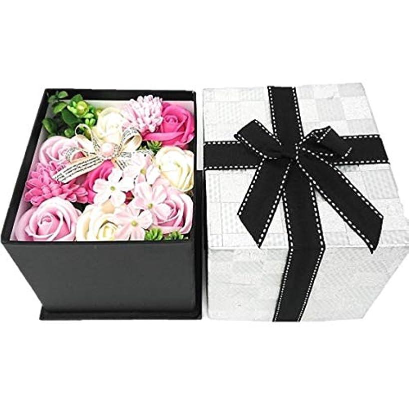 ヒゲエイリアン致命的なクルール バスフレグランス バスフラワー BOX L ピンク 入浴剤 ギフト