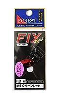 フォレスト(FOREST) スプーン フィックス マッチ 1.3g クイーンレッド #5 ルアー