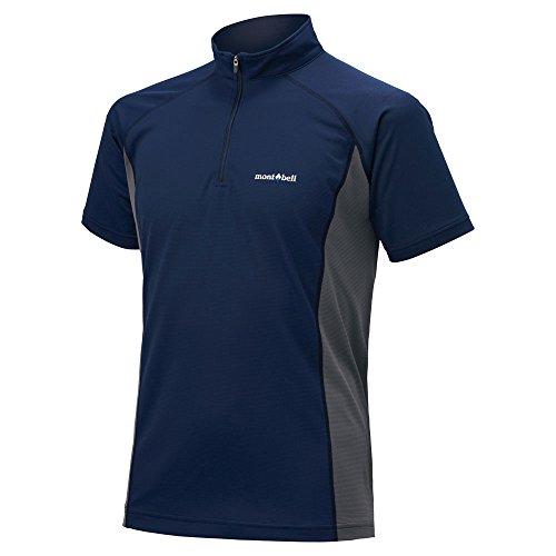 モンベル  クール ハーフスリーブジップシャツ Men's