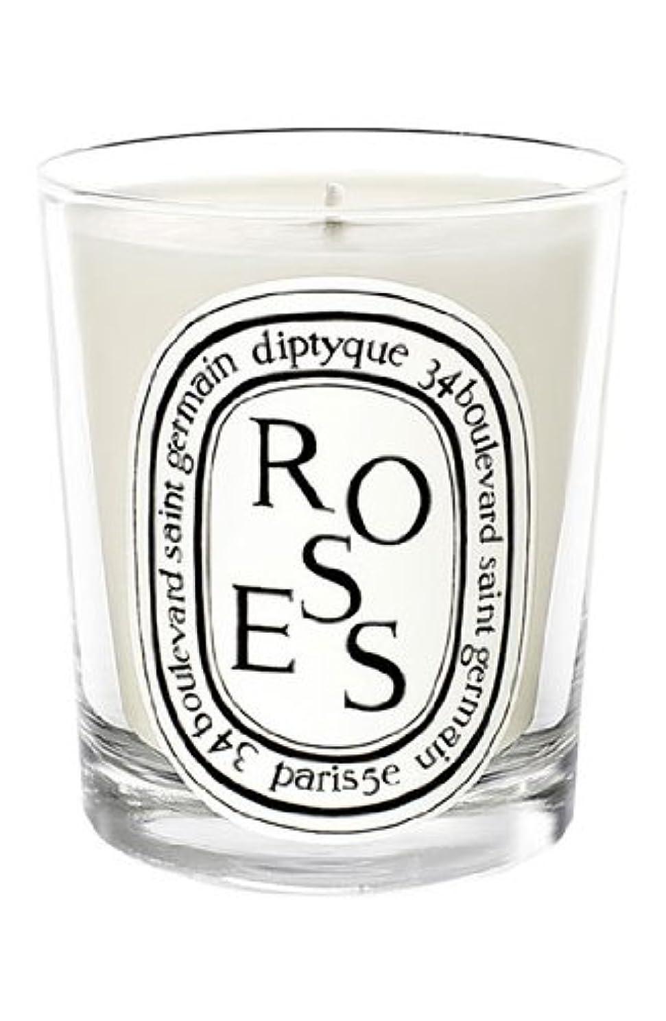 唇楕円形直立Diptyque - Roses Candle (ディプティック ロージーズ キャンドル)195 g