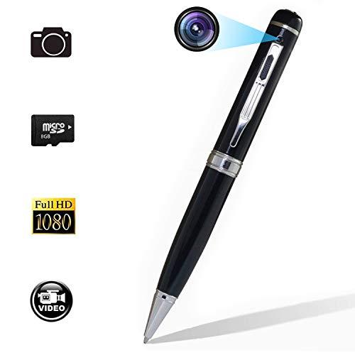 Anviker 高画質1080Pペン型隠しスパイビデオカメラ 内置8GB 日本語取扱