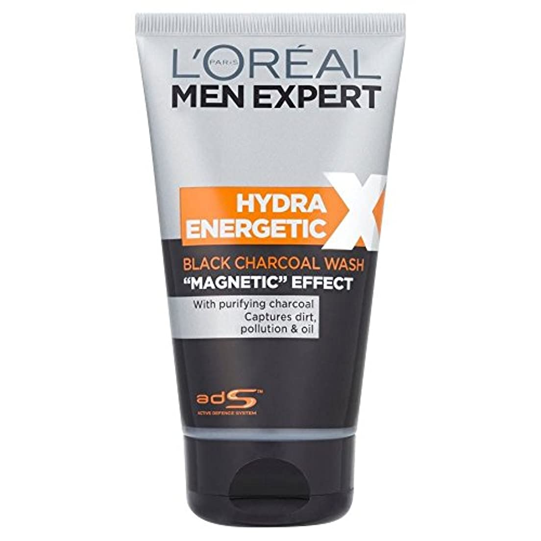 支払い大宇宙ささやきL'Oreal Paris Men Expert Hydra Energetic Daily Purifying Wash (150ml) L'オラ?アルパリのメンズ専門ヒドラエネルギッシュな毎日の浄化洗浄( 150ミリリットル)